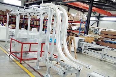 柔性链板输送线加工